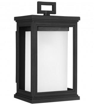 Feiss - OL12900TXB - Roscoe Textured Black 11.5 Inch Outdoor Wall Lantern