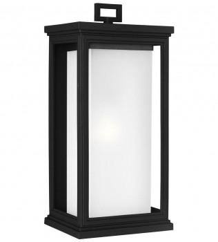 Feiss - OL12902TXB - Roscoe Textured Black 18.25 Inch Outdoor Wall Lantern