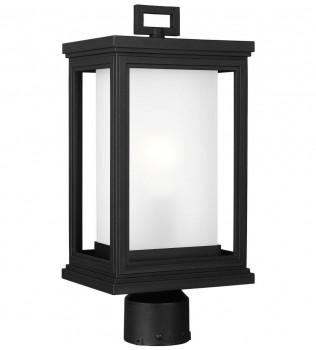 Feiss - OL12907TXB - Roscoe Textured Black 16.5 Inch Outdoor Post Lantern