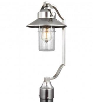 Feiss - OL13907PBS - Boynton Painted Brushed Steel 21 Inch Outdoor Post Lantern