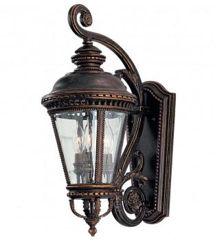 Feiss - OL1901GBZ - Castle Grecian Bronze 22.5 Inch Outdoor Wall Lantern