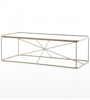 Brendlen + Morris - IMAR-108-BRS - Marlow Lucas Coffee Table