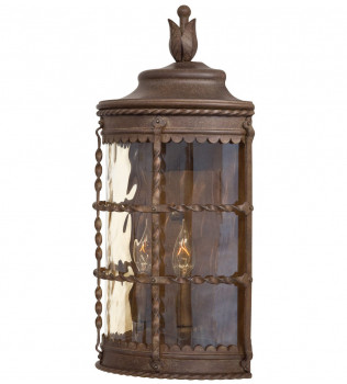 The Great Outdoors - Mallorca 19.5 Inch Outdoor Wall Sconce