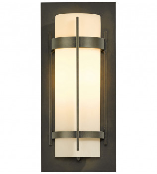 Hubbardton Forge - Banded 15 Inch Outdoor Wall Sconce
