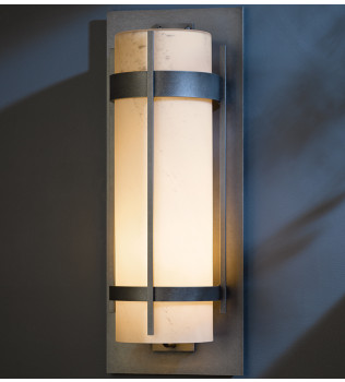 Hubbardton Forge - Banded 25 Inch Outdoor Wall Sconce