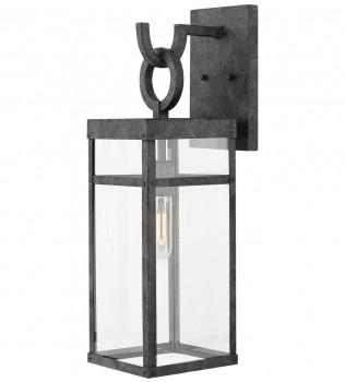 Hinkley Lighting - 2804DZ - Porter Aged Zinc 22 Inch Outdoor Wall Sconce