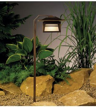 Kichler - 15391OZ - Zen Garden Olde Bronze 24 Inch Path Light