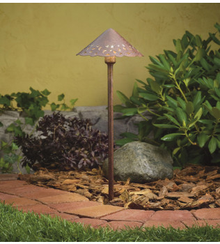 Kichler - Landscape Hammered Roof Landscape Path Light