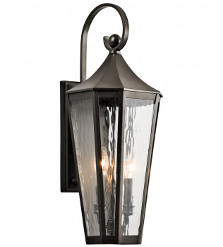 Kichler - Rochdale 24.75 Inch 2 Light Outdoor Wall Sconce