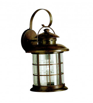 Kichler - 9762RST - Rustic Rustic 11 Inch 1 Light Outdoor Wall Sconce