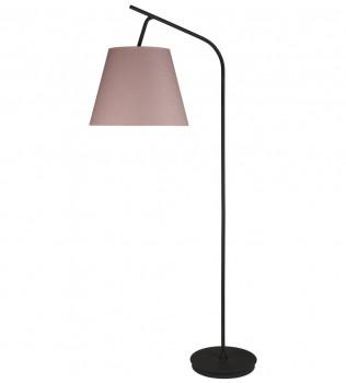Lights Up! - Walker Black Powder Coat 75 Inch Floor Lamp