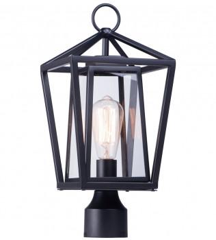 Maxim Lighting - 3171CLBK - Artisan Black 1 Light Outdoor Post Lantern
