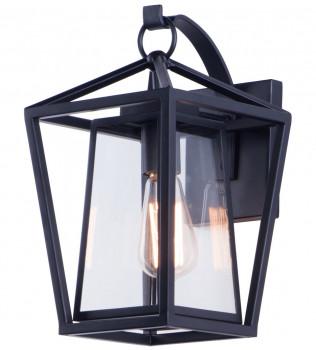 Maxim Lighting - 3174CLBK - Artisan Black 14 Inch 1 Light Outdoor Wall Mount