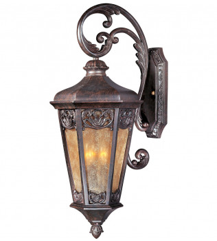 Maxim Lighting - 40174NSCU - Lexington Colonial Umber 3 Light Outdoor Wall Mount