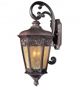 Maxim Lighting - 40175NSCU - Lexington Colonial Umber 3 Light Outdoor Wall Mount