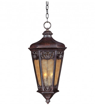 Maxim Lighting - 40177NSCU - Lexington Colonial Umber 3 Light Outdoor Hanging Lantern
