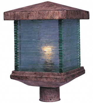 Maxim Lighting - 48735CLET - Triumph VX Earth Tone Outdoor Post Light
