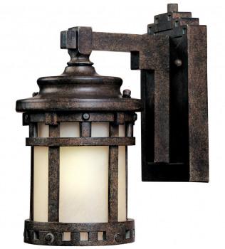 Maxim Lighting - 55033MOSE - Santa Barbara Sienna 13 Inch 1 Light LED Outdoor Wall Sconce