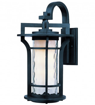 Maxim Lighting - Oakville Black Oxide 14.25 Inch Outdoor Wall Mount