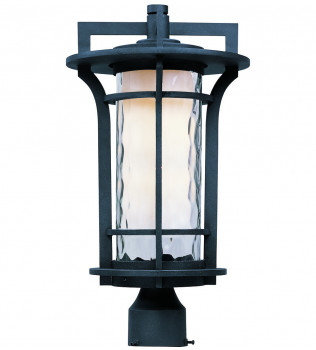 Maxim Lighting - Oakville Black Oxide 17.75 Inch Outdoor Post Lantern