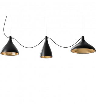 Pablo Designs - Swell String 3 Light Pendant