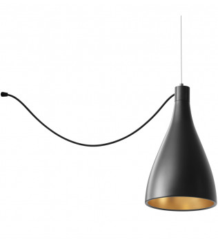 Pablo Designs - Swell String 1 Light Narrow Pendant