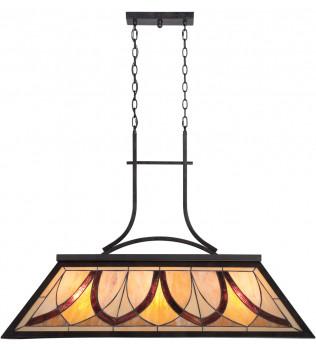 Quoizel - TFAS344VA - Asheville Valiant Bronze Island Light
