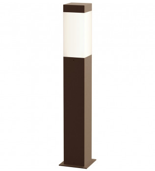 Sonneman - Square Column 22 Inch Bollard Outdoor Path Light