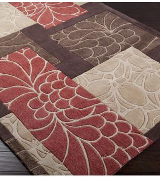 Surya - Cosmopolitan Floral Rectangles Hand Tufted Rug