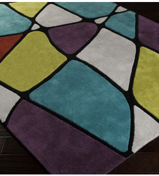 Surya - Cosmopolitan Stained Glass Hand Tufted Rug