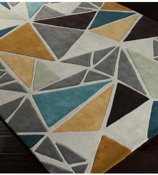 Surya - Cosmopolitan Triangles Hand Tufted Rug