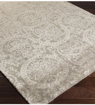 Surya - Henna Medallion and Damasks Hand Tufted Rug
