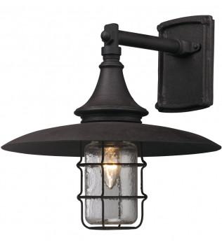 Troy Lighting - B3221 - Allegheny Centennial Rust 13 Inch Outdoor Wall Lantern