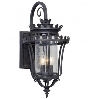 Troy Lighting - B5132 - Greystone Forged Iron 3 Light Outdoor Wall Lantern