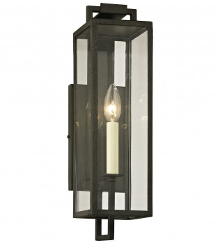 Troy Lighting - Beckham 1 Light Outdoor Wall Lantern