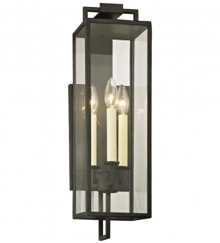 Troy Lighting - Beckham 3 Light Outdoor Wall Lantern