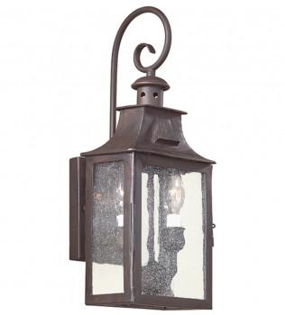 Troy Lighting - BCD9001OBZ - Newton Old Bronze 17.5 Inch 2 Light Outdoor Wall Lantern