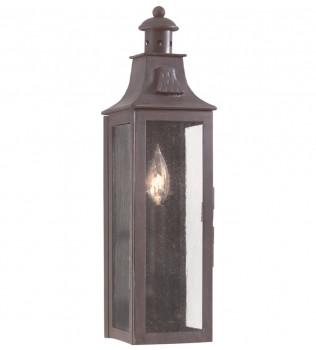 Troy Lighting - BCD9007OBZ - Newton Old Bronze 17.5 Inch 1 Light Outdoor Wall Lantern