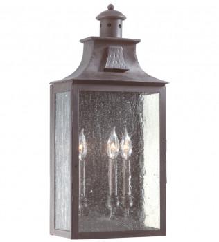 Troy Lighting - BCD9009OBZ - Newton Old Bronze 23.75 Inch 3 Light Outdoor Wall Lantern