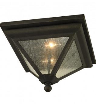 Troy Lighting - C6470 - Geneva Vintage Bronze 2 Light Outdoor Flush Mount
