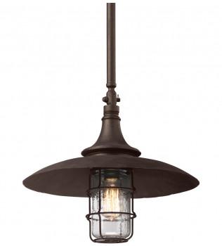 Troy Lighting - F3229 - Allegheny Centennial Rust 22.75 Inch Outdoor Hanging Lantern