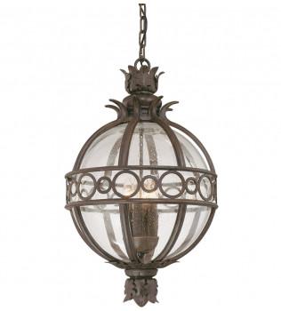 Troy Lighting - F5008CB - Campanile Campanile Bronze 3 Light Outdoor Hanging Lantern
