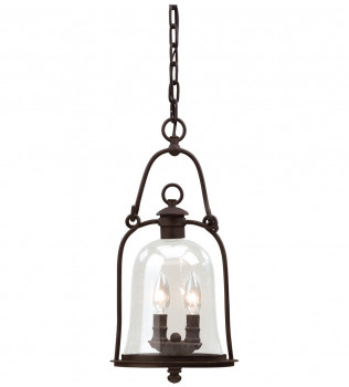 Troy Lighting - F9466NB - Owings Mill Natural Bronze 2 Light Outdoor Hanging Lantern