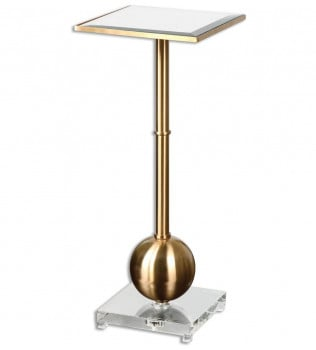 Uttermost - 24502 - Laton Mirrored Accent Table