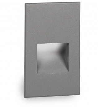 WAC Lighting - LEDme Graphite Vertical Outdoor Step and Wall Light