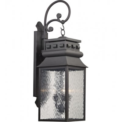 """Forged Lancaster 35"""" Outdoor Wall Sconce"""