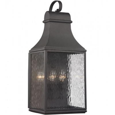 """Forged Jefferson 27"""" Outdoor Wall Sconce"""