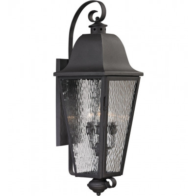 """Forged Brookridge 37"""" Outdoor Wall Sconce"""