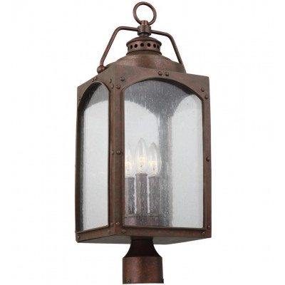 Randhurst 3 Light Outdoor Post Lantern