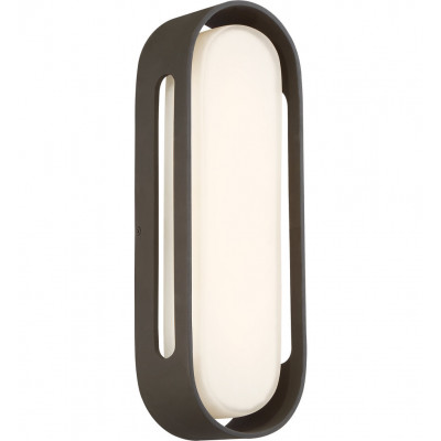 """Floating Oval 15"""" Outdoor Wall Sconce"""